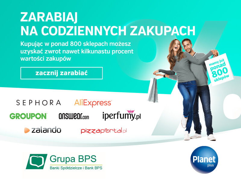 Program zakupowy Planet Plus