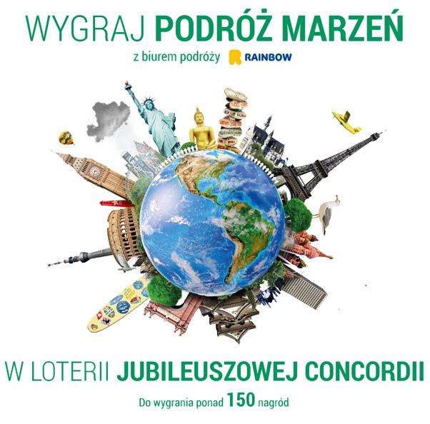 Loteria Jubileuszowa dla klientów Concordii