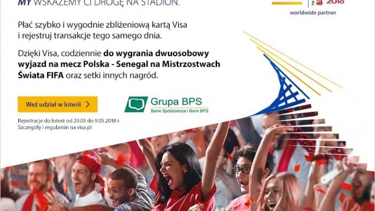 Promocja FIFA 2018 dla nowych użytkowników kart VISA