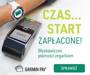 Garmin Pay – płać za zakupy zegarkiem